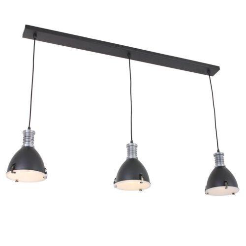 Industriele hanglamp 3-lichts antique STEINHAUER - 1332ZW - Industrie lamp