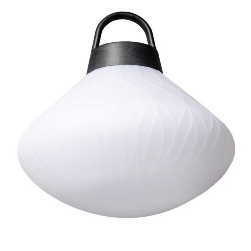 Hanglamp en buitenlamp curved -modern -1-lichts -Joey -wit - IP44 - ETH -Expo Trading Holland