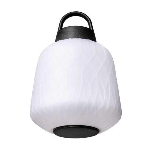 Hanglamp en buitenlamp straight met speaker -modern -1-lichts -Joey -wit - IP44 - ETH -Expo Trading Holland