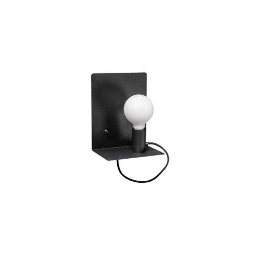 Moderne wandlamp -Magneto -zwart -1-lichts - ETH -Expo Trading Holland