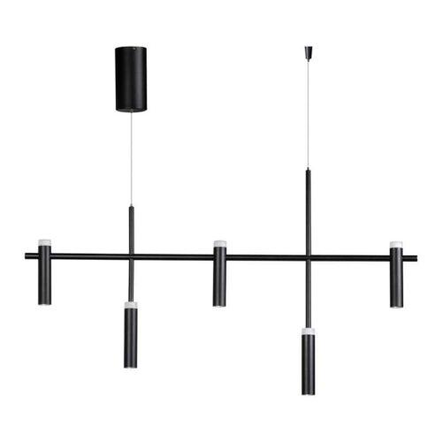 Moderne hanglamp 5-lichts -Jack -zwart - ETH -Expo Trading Holland