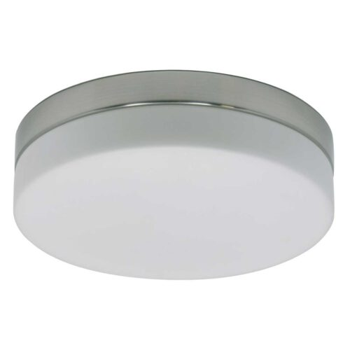 Badkamer plafonnier (zone 2 en 3) - Plafondlamp - Buitenlamp (spatwaterdicht) - plafonnier - 2-lichts Glas LED 22.5cm (6120st) STEINHAUER