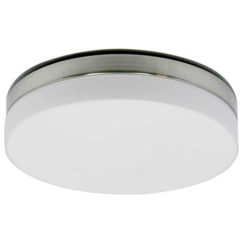 Badkamer plafonnier (zone 2 en 3) - Plafondlamp - Buitenlamp (spatwaterdicht) - plafonnier - 3-lichts. Glas LED 30cm (6121st) STEINHAUER
