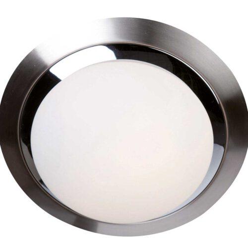 Badkamer plafonnier (zone 2 en 3) - Plafondlamp - Buitenlamp (spatwaterdicht) - plafonnier - 1-lichts. glas LED 22cm (6754st) STEINHAUER