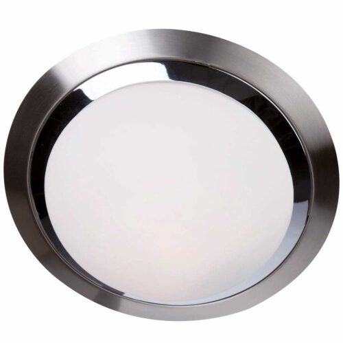 Badkamer plafonnier (zone 2 en 3) - Plafondlamp - Buitenlamp (spatwaterdicht) - plafonnier - 1-lichts. glas LED 26cm (6755st) STEINHAUER