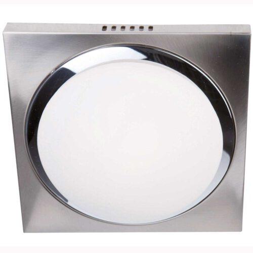 Badkamer plafonnier (zone 2 en 3) - Plafondlamp - Buitenlamp (spatwaterdicht) - plafonnier - 1-lichts. glas LED 26cm (6758st) STEINHAUER