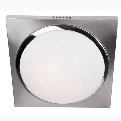 Badkamer plafonnier (zone 2 en 3) - Plafondlamp - Buitenlamp (spatwaterdicht) - plafonnier - 2-lichts glas LED 31cm (6759st) STEINHAUER