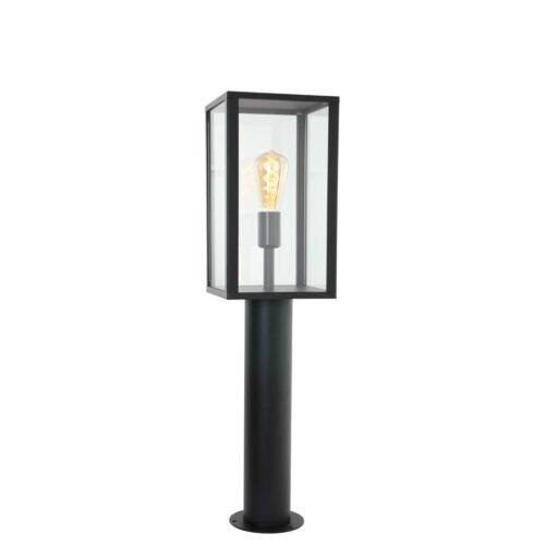 Buitenlamp 1-lichts Vloerlamp rechthoek  E27 STEINHAUER - 1509ZW - Tuinverlichting - Buitverlichting- Steinhauer- Diversen- Diversen- Zwart  -