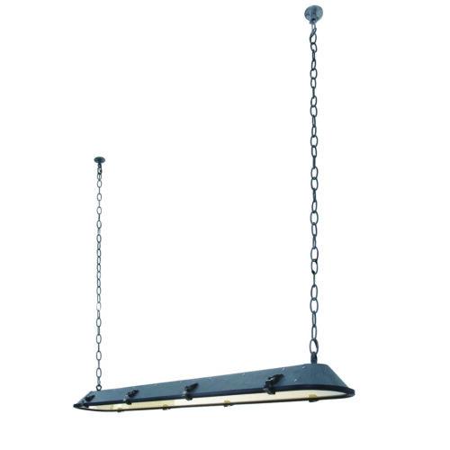 Industriële hanglamp Industrial Anne ANNE LIGHTING - 1571GR - Industrie lamp - industriële hanglamp - Anne Lighting - Tubalar - Industrieel - Grijs betonlook