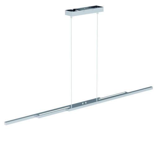 Hanglamp Motion LED STEINHAUER - 7970ST - Hanglamp- Steinhauer- Zelena Motion- Modern- Staal  staal geborsteld-