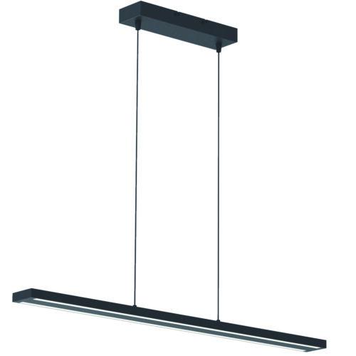 Hanglamp Motion LED STEINHAUER - 7970ZW - Hanglamp- Steinhauer- Zelena Motion- Design- Zwart  -