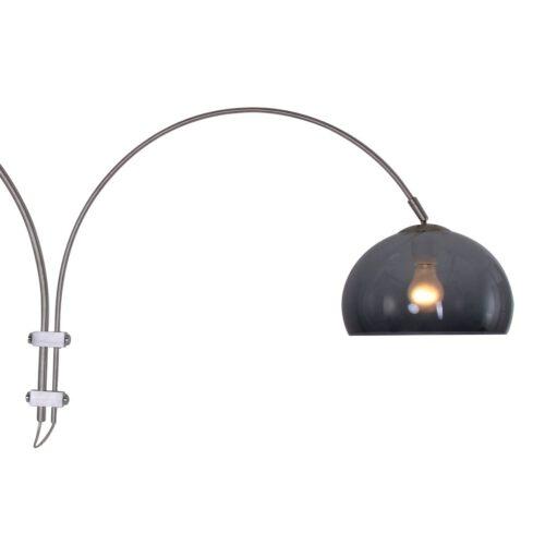 Wandlamp 1-lichts switch (armatuur)+Plexi bal 320 - E27 smoke - STEINHAUER