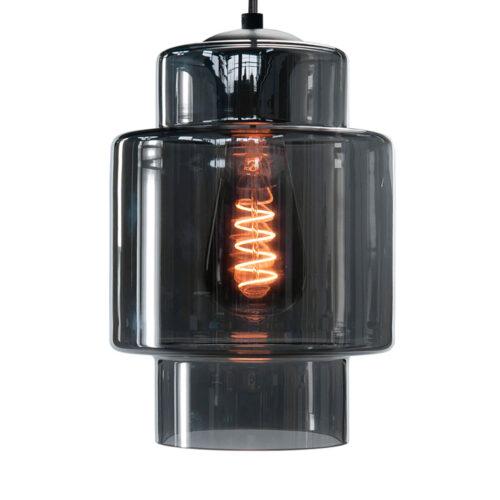 Glas Fantasy Moderno -  Los glas Smoke -  Dit glas is geschikt voor een E27 fitting -  In de glas serie van HIGH LIGHT bevinden zich diverse vormen van dit licht roze glas -  Qua tinten heeft u de keuze per variant uit Smoke (transparant zwart) - licht roze - licht groen - licht geel en licht blauw -  In onze webshop vindt u bij hanglampen diverse armaturen zonder kappen waar deze glazen prachtig op passen (zoek bijvoorbeeld in de categorie Hanglampen op High Light) -  En voor sfeervolle E27 LED lichtbronnen moet u zeker ook even in de categorie LED lichtbronnen kijken -  G2049 - 19