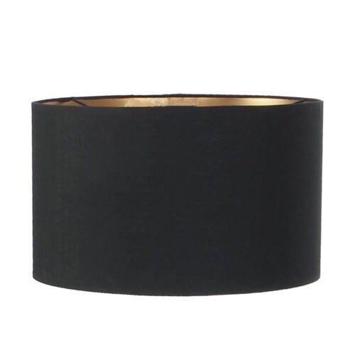 Kap 30*18cm rond zwart - Anne light & home
