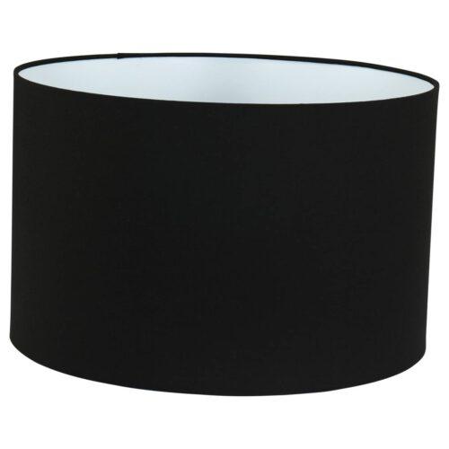 Kap 40*25 rond E27 zwart - Mexlite
