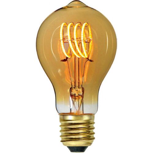 LED spiraal 6W 3-step dimbaar lamp - voor standaardlamp E27 fitting - 6 Watt - Amber -  Duurzaam - decoratief en dimbaar -  Met deze 3-step dimming lamp heeft u geen dimmer nodig -  U gebruikt een normale schakelaar -  Door binnen 30 seconden vaker op de schakelaar te drukken verandert de lichtsterkte -  Van de hoogste lichtopbrengst naar een lage sfeervolle lichtopbrengst -  Kelvin 2700 - Lumen 540 -  HIGH LIGHT -  Deze LED lichtbron is ook verkrijgbaar in de kleur Smoke -  Ten opzichte van Smoke geeft Amber meer licht -  En deze lamp is ook verkrijgbaar in 9W dimbare uitvoering -  Zie webshop categorie LED Lichtbronnen -  L2700 - 36