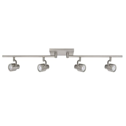 Alto Spot 4-lichts - plafondlamp met vier spots - GU10 Mobiel Mat Nikkel zonder lampen - Serie Alto - Spots - High Light - S739930