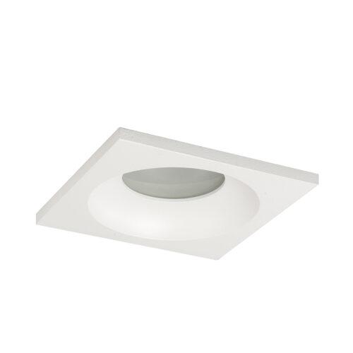 Inbouwspot badkamer (zone 2 en 3) en buiten (spatwaterdicht) - 51mm  IP44 Vierkant Wit - Serie Inbouwspot 51mm - Spots - High Light - S782600