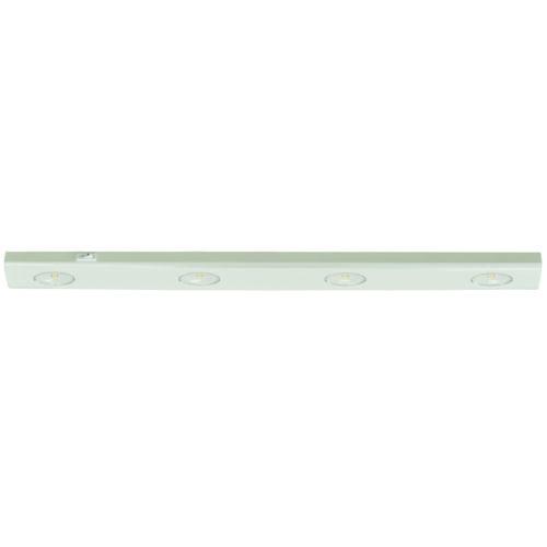 Keukenkast verlichting - onderbouw - werkbladverlichting - onderbouwverlichting - meubelarmatuur 55 cm -  Wit 4 x 1W Led - Serie Meubelarmatuur - Spots - High Light - S790600