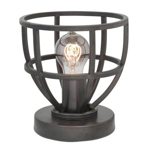 Tafellamp Orion 18 cm E27 Black Steel - Serie Orion - High Light - T131801