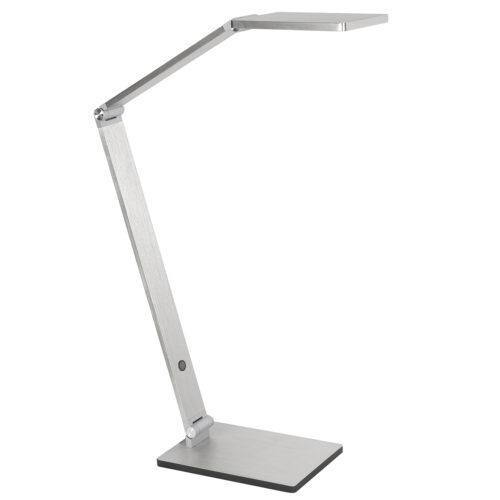 Bureaulamp - leeslamp - bedlamp - tafellamp Galaxy 8W LED 2700K Nikkel Mat - Serie Galaxy - Tafellamp - High Light - T149030