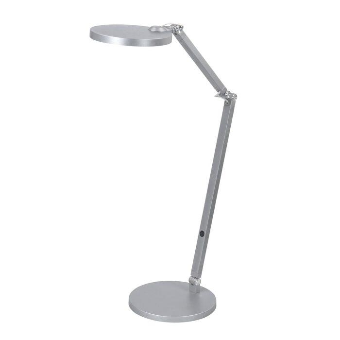 Bureaulamp - leeslamp - tafellamp Ufficio 8W 2700K LED Nikkel Mat - Serie Ufficio - Tafellamp - High Light - T149330
