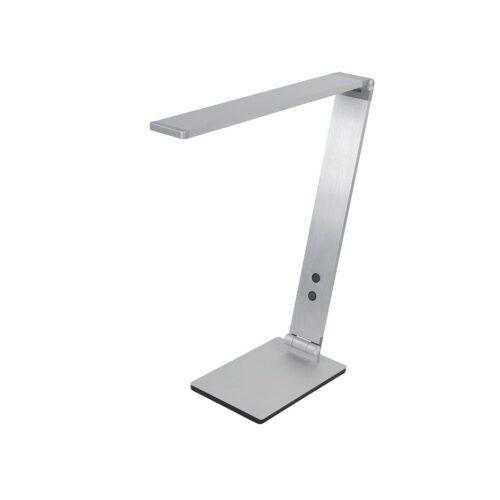 Bureaulamp - leeslamp - tafellamp Optimus 8W LED CCT Zilver - Serie Optimus - Tafellamp - High Light - T149530