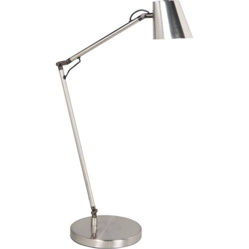 Tafellamp Metallic 7W LED 2700K Nikkel Mat + Touchdimmer - Serie Metallic - High Light - T149830