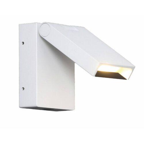 "Wandlamp - bedlamp - wit ""Kapo"" IP20 voorzien van touch dimmer - LED 6W 2700K 744lm - ART DELIGHT - WL KAPO WI"