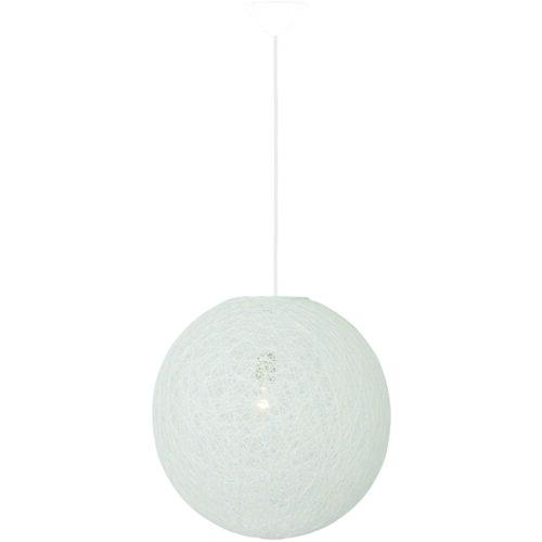Hanglamp 'Abaca' 45cm Wit FREELIGHT - H 1251 W