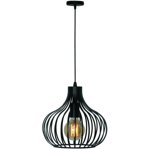 Hanglamp 'Aglio' 28 cm Zwart FREELIGHT - H 7841 Z