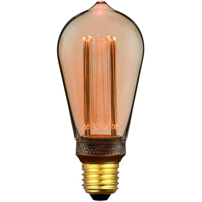 5W LED edison gold 6