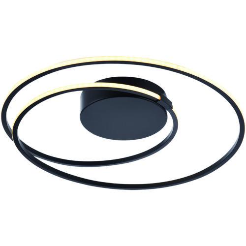 Plafondlamp 'Ophelia' 24 W Zwart FREELIGHT - PL 1366 Z