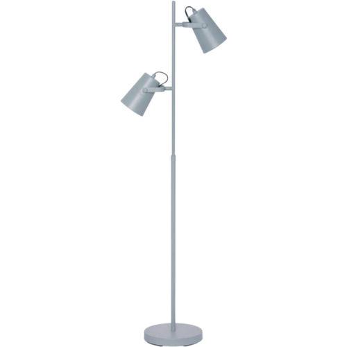 Vloerlamp 2-lichts 'Lettura' Grijs FREELIGHT - S 1452 G
