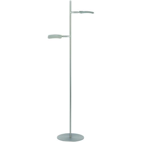 Vloerlamp 2-lichts 'Raggio ' Staal FREELIGHT - S 1512 S