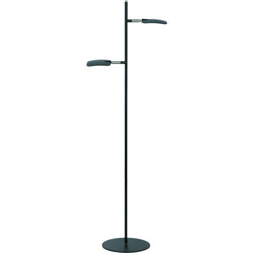 Vloerlamp 2-lichts 'Raggio' Zwart FREELIGHT - S 1512 Z