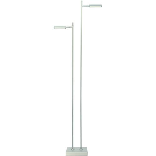 Vloerlamp 'Block' 2-lichts LED Staal FREELIGHT - S 2322 S