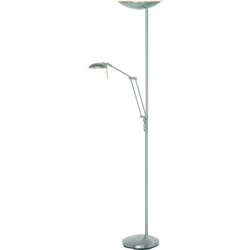 Uplighter + Leeslamp 'Gina' LED Staal FREELIGHT - S 4343 S