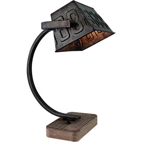 Industriële tafellamp 'Scava' Zwart Staal FREELIGHT - T 5960 Z