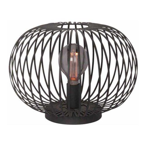 Tafellamp Aglio zwart 1-lichts hoogte 23cm FREELIGHT - T7840Z