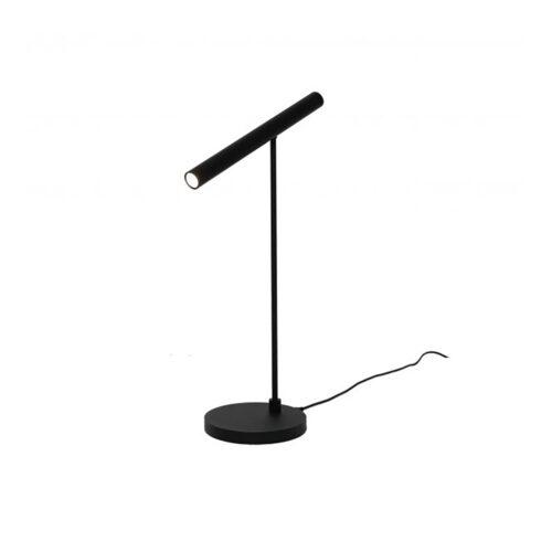 """Tafellamp zwart 1-lichts leeslamp """"Harper"""" LED 6W 2700K 630lm dimbaar - ART DELIGHT"""