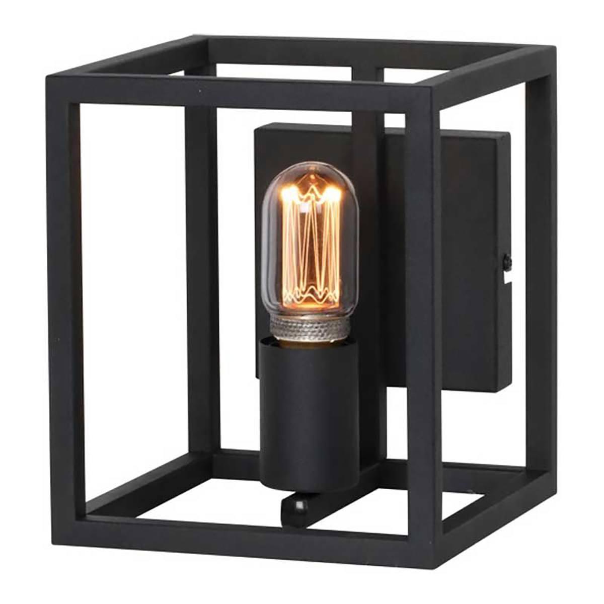 Wandlamp Novanta zwart 1-lichts FREELIGHT - W9010Z