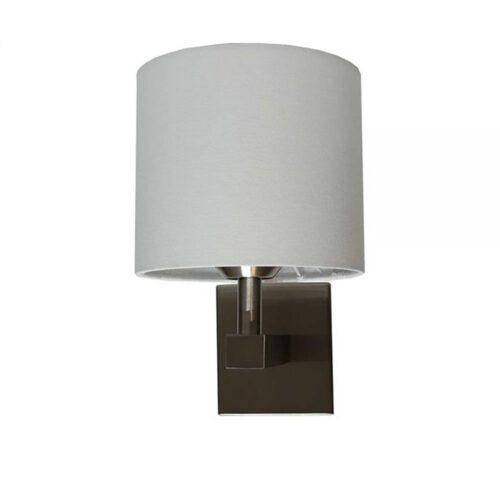 E27 ST bedlamp exclusief off-white kap & schakelaar - ART DELIGHT