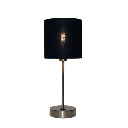 """Tafellamp staal 1-lichts """"Rosa"""" 26h zonder kap met schakelaar E14 - ART DELIGHT"""